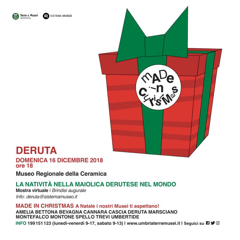 Made in Christmas - Museo della Ceramica di Deruta