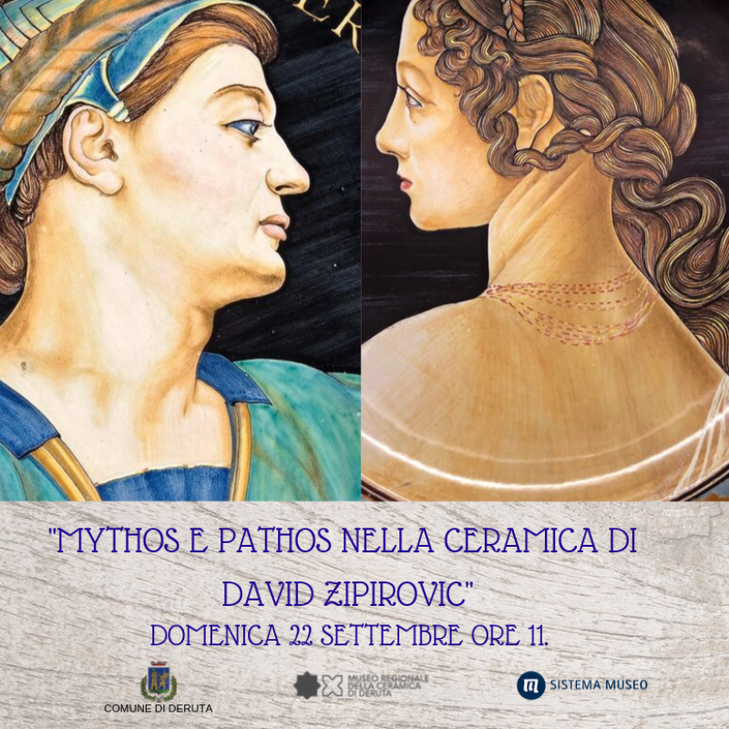 MYTHOS E PATHOS NELLA CERAMICA DI DAVID ZIPIROVIC