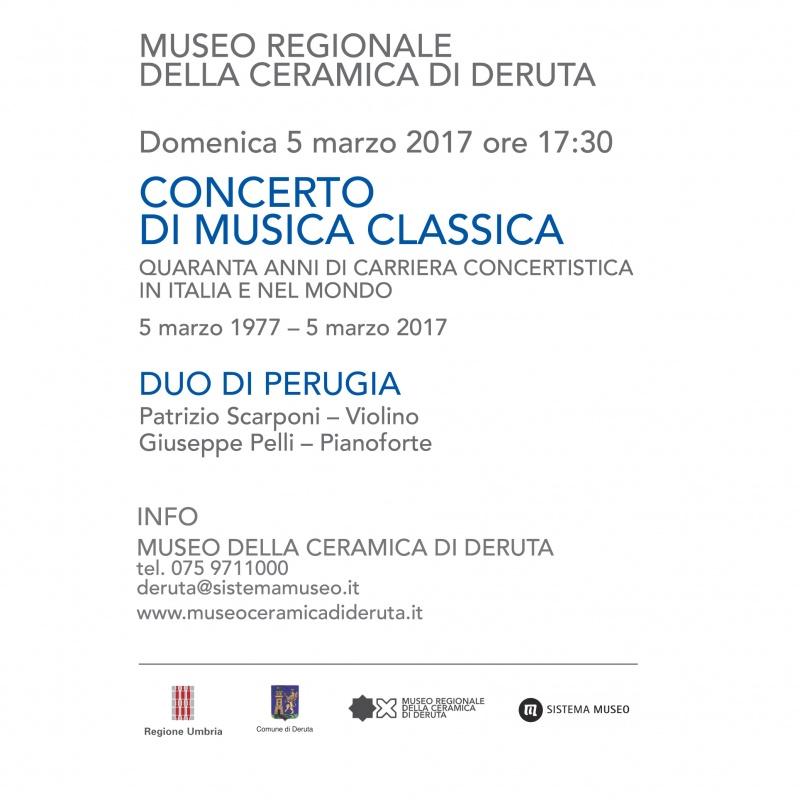 Concerto di musica classica - Museo della Ceramica di Deruta