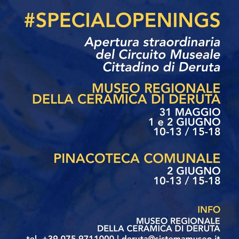 #SpecialOpenings