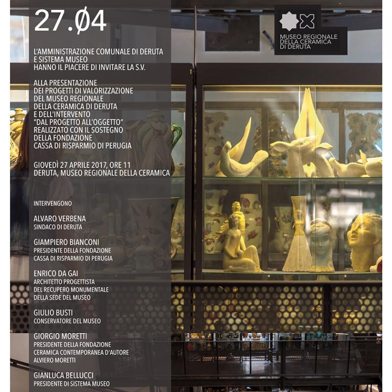 Dal progetto all'oggetto - Museo della Ceramica di Deruta