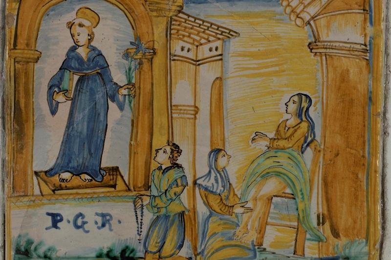 """The Sanctuary """"Madonna del Bagno"""""""